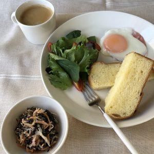 ひじきと野菜のゴマドレサラダ
