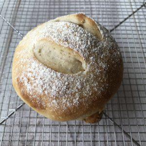 柚子と白ワインのパン