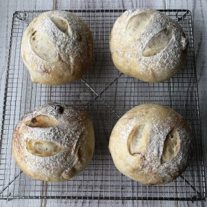 柚子と白ワインのパン集合