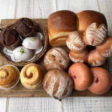 4月限定パンとお菓子の詰め合わせセットを焼きました!