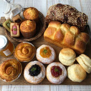 アフタヌーンティーを楽しむパンとお菓子のセット5月11日を焼きました!