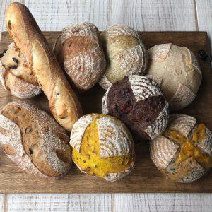ハード系のパン詰め合わせセット7月9日