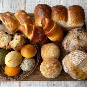 イベントで人気のパン詰め合わせセット10月12日を焼きました!